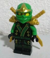RARE Lego Ninjago ExclusiveGreen  Lloyd ZX Black Kimono Encyclopedia Minifigure