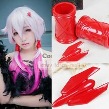 3PCS Anime Guilty Crown Inori Yuzuriha Cosplay Hair Clip+hair band  For Costume