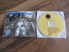 RED HOT CHILI PEPPERS Around The World 1999 GERMANY promo CD single