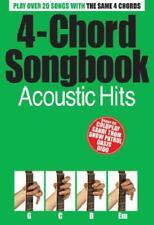 ACUSTICO Hits (4 Chord Songbook) di libro tascabile 9781846097744 NUOVO