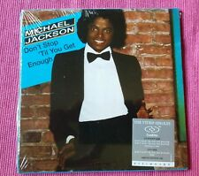 MICHAEL JACKSON DON'T STOP TIL YOU GET ENOUGH CD SINGOLO DVD SIDE NUOVISSIMO!