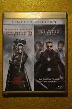 Blade II Blu ray Blade 2 & Trinity 2 Film Double pack EU Import New & Sealed