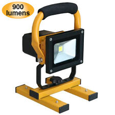 10W LED Cordless Rechargeable Hand Floodlight 900 Lumens