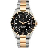 Orologio PHILIP WATCH mod. CARIBE ref. R8253597041 Uomo acciaio e oro sub 100 m