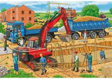 Ravensburger Busy Construction Site 2 x 12 Piece Jigsaw Puzzles