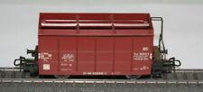 Unbemalte Güterwagen für Modellbahnen der Spur H0 aus Stahl