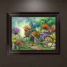 DIY 5D Diamond Embroidery Painting Bicycle Cross Stitch Craft Home Decor