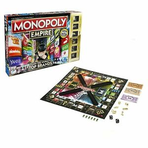 Monopoly Empire Game New Tokens Top Brands GOLD Edition Tokens B0595