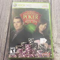 "World Championship Poker feat. Howard Lederer ""All In"" (Xbox 360) (Complete)"