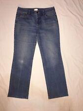 8 Ann Taylor LOFT Denim Jeans New Blue Boot Cut Leg Factory Faded Stretch