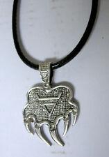 Halskette Necklace Bearclaw Bärenkralle Totem  Indianer Western Indianerschmuck