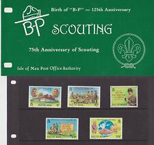 ISLE OF MAN Presentation Pack 1982 7TH ANNIVERSARY OF SCOUTING 10% off any 5+