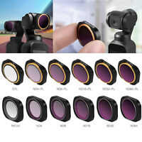Super Slim Camera Lens Filters For DJI OSMO POCKET MCUV CPL ND-PL ND4/8/16/32/64