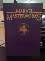 MARVEL MASTERWORKS VOL.2 THE FANTASTIC FOUR Nos.1-10 Lee & Kirby Hardcover Comic