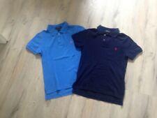 2 Poloshirts von  Polo Ralph Lauren Gr.158 blau