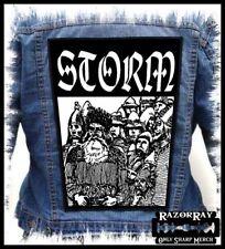 STORM - Nordavind --- Huge Jacket Back Patch Backpatch
