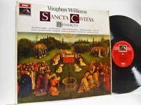 WILCOX vaughan williams sancta civitas & benedicte LP EX/VG+, ASD 2422, vinyl,