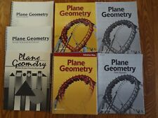 A Beka Plane Geometry Math 11 CURRENT COMPLETE Student and Teacher Set +3 FREE