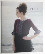 Belle Louisa Harding Knitting Patterns 12 Projects Tops Purse Scarf Wrap Shrugs