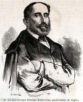 Giorgio Pallavicino Trivulzio: Prodittatore di Napoli. + Passepartout. 1860