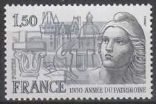 Frankrijk postfris 1980 MNH 2212 - Jaar Cultureel Erfgoed