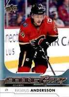 2017-18 Upper Deck Young Guns Rasmus Andersson Rookie #218