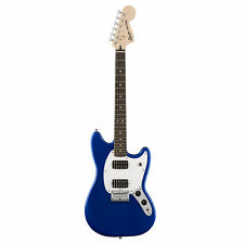 Fender Squier Bullet Mustang HH Electric Guitar, Laurel Fingerboard Blue