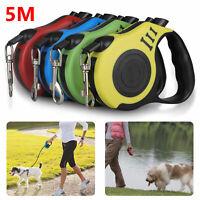 Adjustable Retractable Dog Cat Pet Harness Leash Walking Collar Puppy Vest 16ft