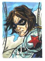 2014 Marvel Premier Winter Soldier Sketch Card Wayne Beeman UD Upper Deck 1/1