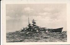 Kauffoto, Propaganda Komp., Schlachtschiff in schwerer See; 5026-134