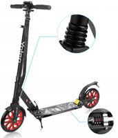 Klappbar Erwachsene Scooter Cityroller Tretroller Kickboard Roller Big Wheel