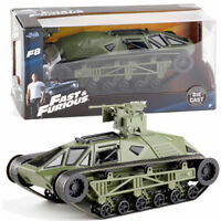 JADA 1:24 FAST AND FURIOUS 8 RIPSAW TANK GREEN DIECAST VEHICLE TOY COLLECTION