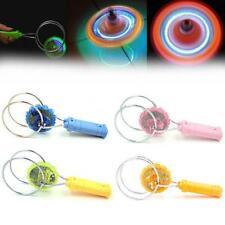 Magnetic Gyro Wheel Magic Spinning Top Kids Toy Flashing Light Up Gyroscope Gift