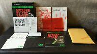 Murder by the Dozen Commodore 64 C64 Computer Game w/ Box & Manual COMPLETE 1983
