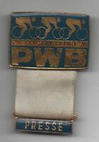 Orig.part.pin   XXIX.Course de la Paix / Peace Race 1976  -  PRESSE  !!  RARITY