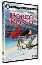 DVD Disney Studio Ghibli Porco Rosso NEUF en Blister Hayao Miyazaki Marco Pagot