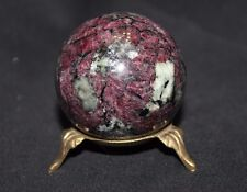 Eudialyte, Aegirine sphere, ball - 52,8 mm. Kola Peninsula, Russia.  №0