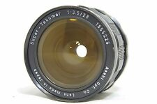Pentax Super Takumar 28mm F/3.5 MF Wide Angle Lens SN1855226 for M42 *As-Is*