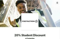 Footaction 20%Off Coupon - Discount Code ***FAST DELIVERY***