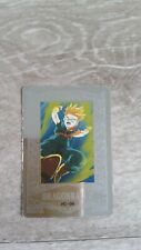 carte dragon ball z platina card pc-09 holo etat tbe année 1994