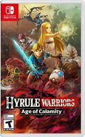 Hyrule Warriors: Age of Calamity - Nintendo Switch Brand New Factory Sealed