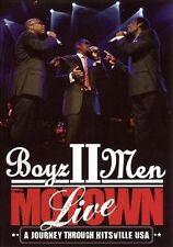 Motown: A Journey Through Hitsville USA Live by Boyz II Men (DVD, Nov-2009, Universal Music TV (UK))