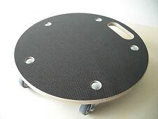 Rollbrett, Fassroller, rund, 400mm, 180kg, 5 Rollen, Made in Germany
