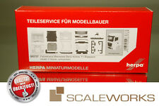 Herpa 083737 MB Actros Bigspace Fahrerhaus ohne Windleitblechen, separater Grill