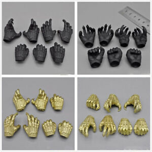 Hot Toys1/6th Biochemical Monster Black Panther 2.0 Yellow Gold Paw Set Model