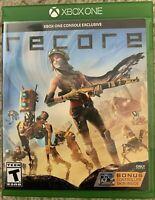 ReCore (Microsoft Xbox One, 2016) w/ Bonus Controller Skin