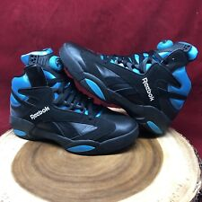 c90b23c799c8 2016 Reebok Pump Shaq Attaq Retro OG Black Azure Orlando Magic Size 8 V55083