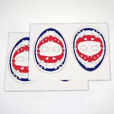 Vinyl Goalie Mask Stickers Ken Dryden Vinyl Stickers - Montreal Canadiens 29
