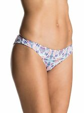 Roxy Printed Strappy Love Mini Marshmallow Land Bikini Bottom Small ERJX403341