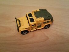 2000 Matchbox MB 506 Hummer orange clair/vert kaki; Tranor, MBX ADVENTURE TEAM